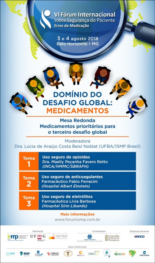 Domínio do desafio global: Medicamentos